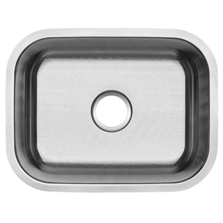 Ticor 23-inch 16-gauge Stainless Steel Undermount Kitchen Sink
