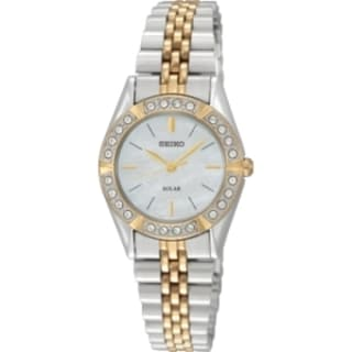 Seiko Women's SUP094 Solar Wrist Watch