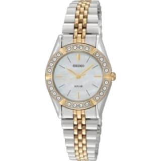 Seiko Women's SUP094 Solar Wrist Watch