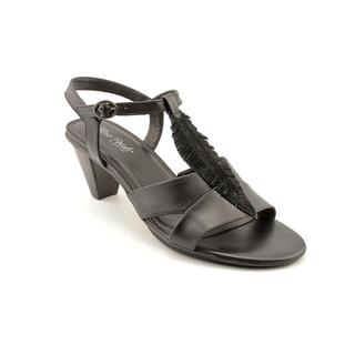 Walking Cradles Women's 'Sonia' Leather Sandals - Wide (Size 12 )