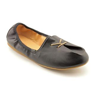 Lil Miz Girl (Youth) 'April' Leather Casual Shoes