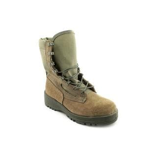 Wellco Women's 'Hot Weather Combat' Full-Grain Leather Boots - Wide