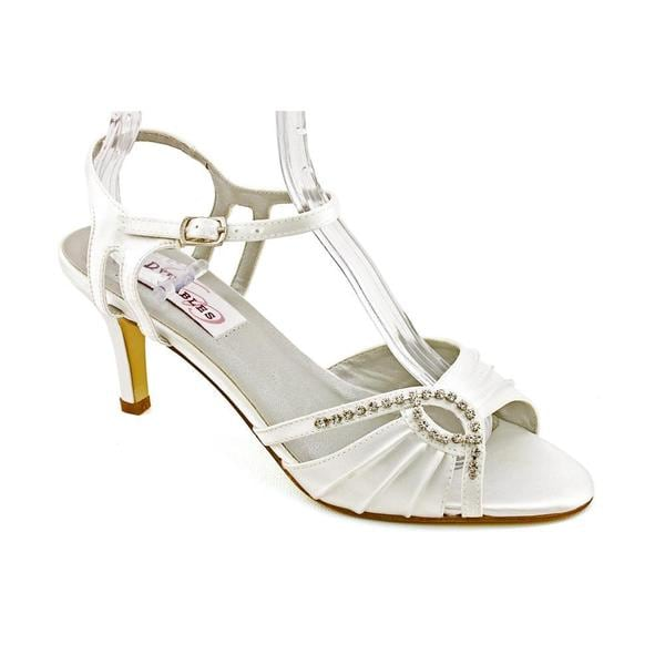 Dyeables Women's 'Ariana' Satin Sandals (Size 6.5 )