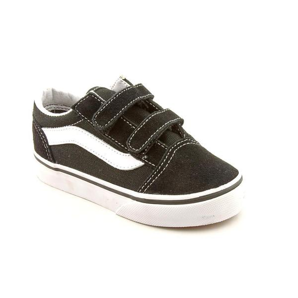 Vans Boy (Toddler) 'Old Skool V' Leather Casual Shoes (Size 10 )