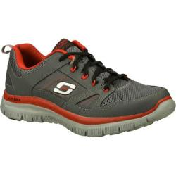 Men's Skechers Flex Advantage Charcoal/Red