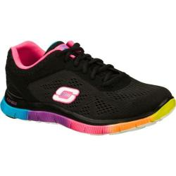Women's Skechers Flex Appeal Style Icon Black/Multi