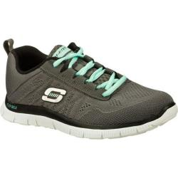 Women's Skechers Flex Appeal Sweet Spot Charcoal/Black