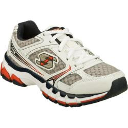 Boys' Skechers Jagz Glum White/Gray