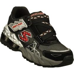 Boys' Skechers Mega Flex Cerium Black/Silver