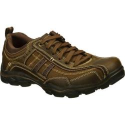 Men's Skechers Relaxed Fit Montz Reyvon Dark Brown