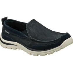 Men's Skechers Relaxed Fit Superior Melvin Navy