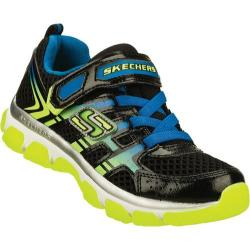 Boys' Skechers X-Cellorator Black/Yellow/Blue