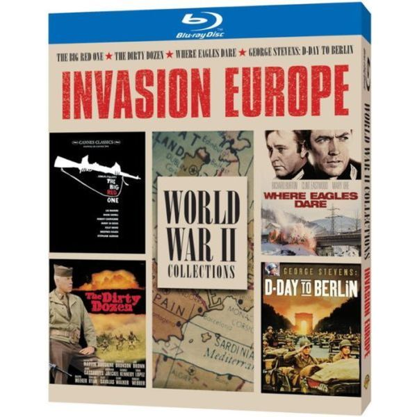 Invasion Europe: 70th Anniversary War Collection (Blu-ray Disc) 12476197