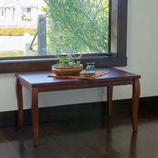 Bladen Mahogany Wood Coffee Table