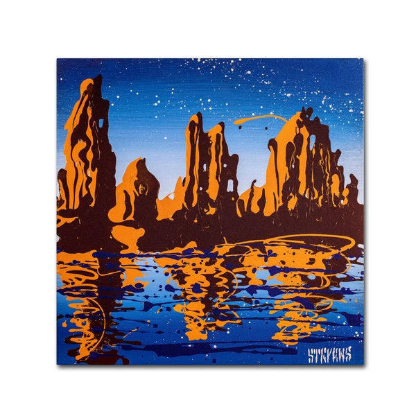 Roderick Stevens 'Lake Powell 02' Canvas Art