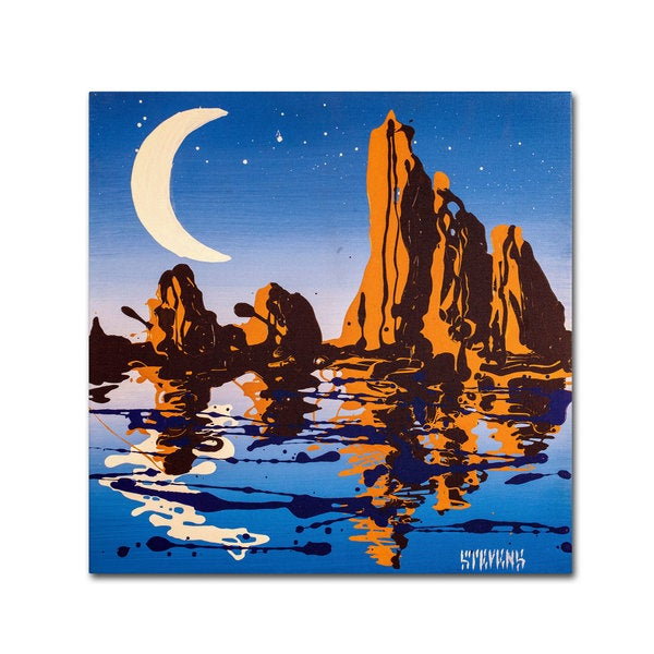 Roderick Stevens 'Lake Powell' Canvas Art