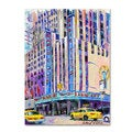 Richard Wallich 'Radio City Music Hall' Canvas Art