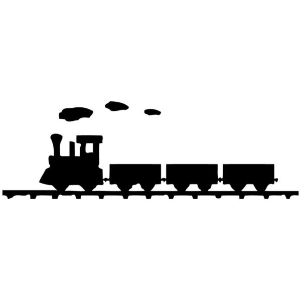 Little Train Wall Vinyl Decal