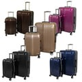 World Traveler Elite 2-piece Hardside Spinner Luggage Set - TSA Lock