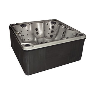 Christopher Knight Home Portable Spa LX 800 with Opal Shell and Charcoal Cabinet