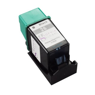 Sophia Global Remanufactured Black Ink Cartridge Replacement for HP 26