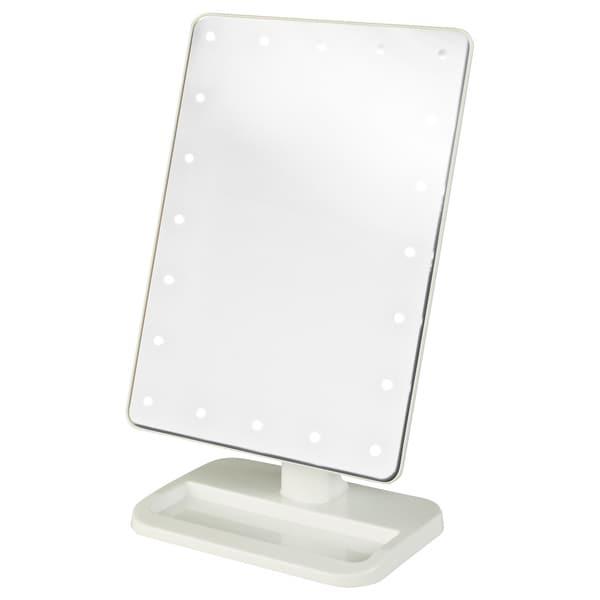 jerdon 8 inch portable10x led lighted makeup mirror overstock. Black Bedroom Furniture Sets. Home Design Ideas