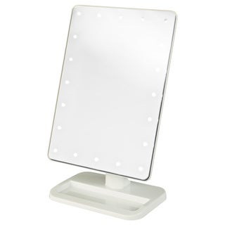 Jerdon 8-inch Portable10x LED Lighted Makeup Mirror
