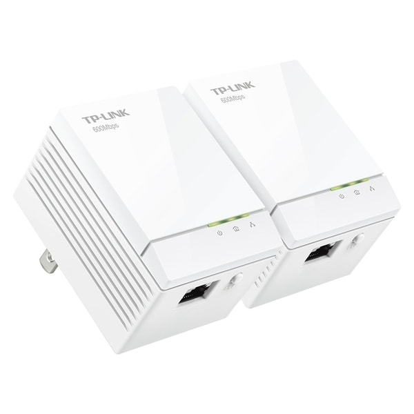 TP-LINK TL-PA6010KIT AV600 600Mbps Gigabit Powerline Adapter Starter