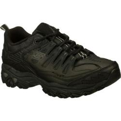 Men's Skechers After Burn Memory Fit Reprint Black