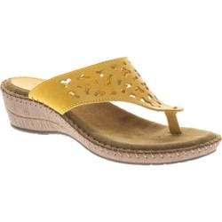 Women's Spring Step Premium Yellow Leather