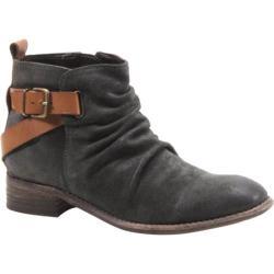 Women's Diba True Ris Kee Grey Suede/Tan Leather