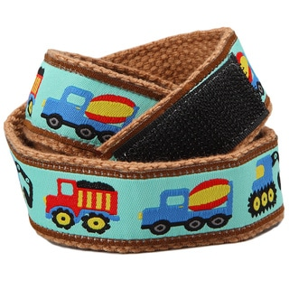 Superflykids 'Dig It' Blue Printed Hook-and-loop Belt