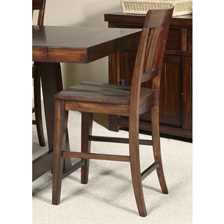 Tahoe 24-inch Rustic Mahogany Bar Stool (Set of 2)