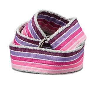 Superflykids 'Pinkletoes' Purple Printed D-ring Belt