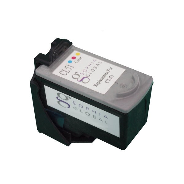 Canon CL-51 High Capacity Color Ink Cartridge For PIXMA MP450, PIXMA iP6210D and PIXMA iP6220D Printers 3126853