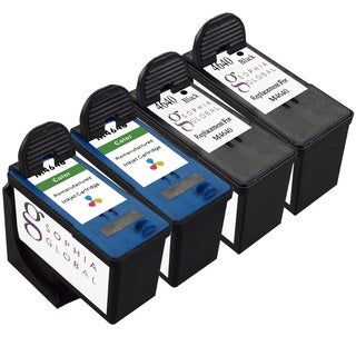 Sophia Global Remanufactured Ink Cartridge Replacement for Dell M4640 and M4646 (Pack of 4)