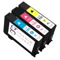 Sophia Global Lexmark 100XL Compatible 3-piece Color Ink Cartridge Replacement Set (1 Cyan, 1 Magenta, 1 Yellow)