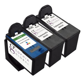 Sophia Global Dell M4640 and M4646 Remanufactured 3-piece Ink Cartridge Replacement Set