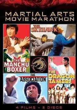 The Manchu Boxer/The Skyhawk/The Association/The Dragon Tamers (DVD)