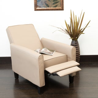 Christopher Knight Home Darvis Camel PU Leather Recliner