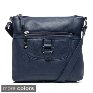 Stone Mountain 'Summit' Leather Crossbody Bag