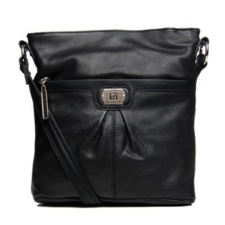 Stone Mountain 'Super' Leather Crossbody Bag