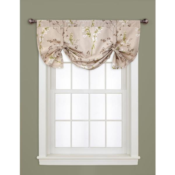 lush decor linen 18 inch roslyn window valance 16049041