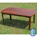 International Caravan Sunrise Acacia Hardwood Outdoor Coffee Table