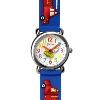 Fusion Kids' 'Fire Truck' Watch