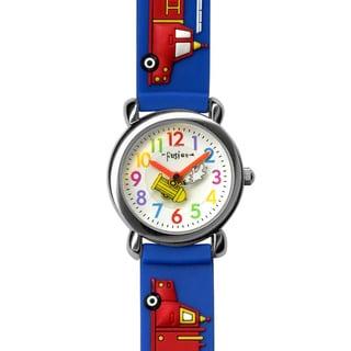 Fusion Kids' 'Fire Truck' Watch