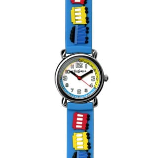 Fusion Kids' Blue Train Watch