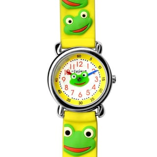 Fusion Kids' Frog Yellow Watch