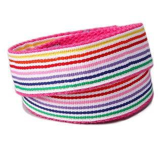 Superflykids 'Rainbow Splash' Multicolor Printed Hook-and-loop Belt