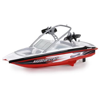 New Bright Mastercraft RC FF Red Boat